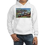 Camp Hood Texas (Front) Hooded Sweatshirt