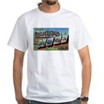 Camp Hood Texas White T-Shirt