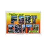 Fort Smith Arkansas Rectangle Magnet (10 pack)