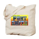Fort Smith Arkansas Tote Bag