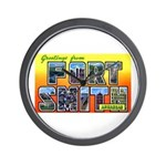 Fort Smith Arkansas Wall Clock
