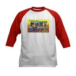 Fort Smith Arkansas (Front) Kids Baseball Jersey