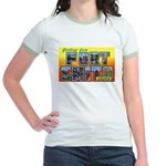 Fort Smith Arkansas (Front) Jr. Ringer T-Shirt