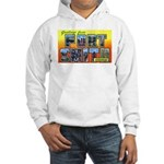 Fort Smith Arkansas (Front) Hooded Sweatshirt