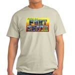 Fort Smith Arkansas (Front) Ash Grey T-Shirt