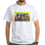 Fort Smith Arkansas (Front) White T-Shirt