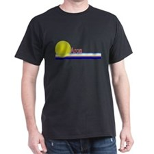 Aron Black T-Shirt