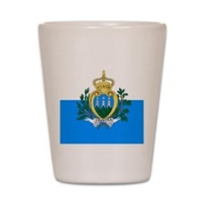San Marino Shot Glass
