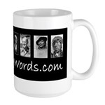 Awakening Words Large Mug