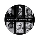 Awakening Words Ornament (Round)