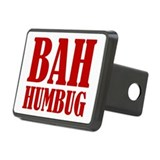 Bah Humbug Rectangular Hitch Cover