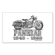 Panhead Rectangle Decal