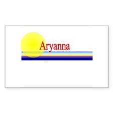 Aryanna Rectangle Decal