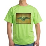 THE BLACK EAGLE Green T-Shirt