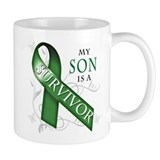 My Son is a Survivor (green).png Mug