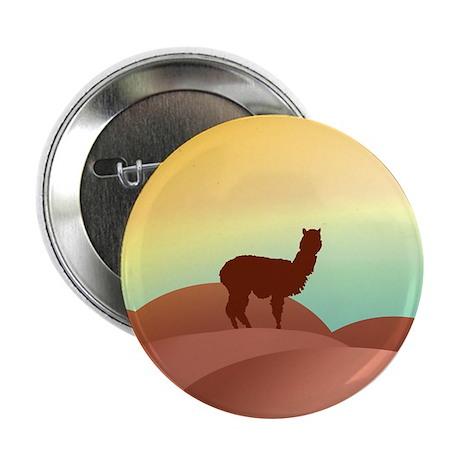 alpaca landscape Button