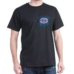 Israeli Police Hostage Negoti Black T-Shirt
