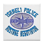 Israeli Police Hostage Negoti Tile Coaster