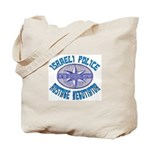 Israeli Police Hostage Negoti Tote Bag