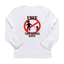 Free the leash kids Long Sleeve Infant T-Shirt