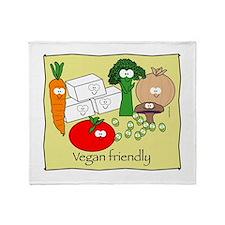 mushroom_veganfriendlybl.png Throw Blanket