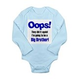 Funny Going to be a big brother Long Sleeve Infant Bodysuit
