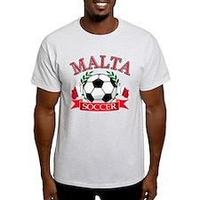 Malta Soccer Designs T-Shirt