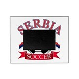 Serbia Soccer Designs Picture Frame