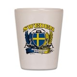 Sweden Fotball 2012 Shot Glass