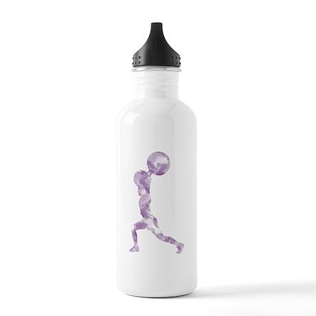 Watercolor Lift in Purple Stainless Water Bottle 1