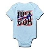 Harness Racing USA Infant Creeper