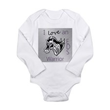 I love an EDS Warrior Long Sleeve Infant Bodysuit