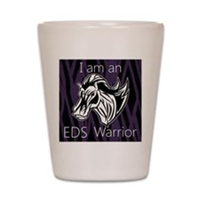 I am a warrior.png Shot Glass