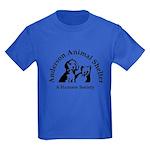 Anderson Animal Shelter Logo Kids Dark T-Shirt