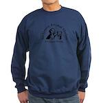 Anderson Animal Shelter Logo Sweatshirt (dark)