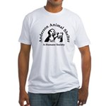 Anderson Animal Shelter Logo Fitted T-Shirt