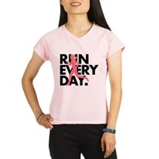 Pink/Black Run Every Day Performance Dry T-Shirt