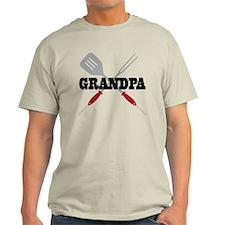 Grandpa BBQ Grilling T-Shirt