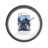 Advice from a Dragon Wall Clock