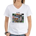 JoVE Articles Women's V-Neck T-Shirt