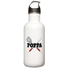 Poppa BBQ Grilling Water Bottle