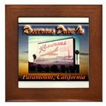 Rosecrans Drive-In Framed Tile