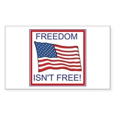 Freedom Isn't Free Decal