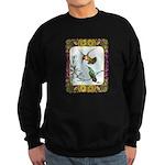 Rufous Hummingbirds Sweatshirt (dark)