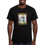 Rufous Hummingbirds Men's Fitted T-Shirt (dark)