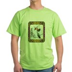 Rufous Hummingbirds Green T-Shirt