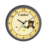 Beary Sweet Wall Clock - Caiden Wall Clock