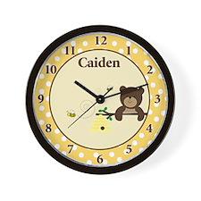 Beary Sweet Wall Clock - Caiden Wall Clock