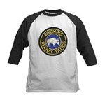 Wyoming Highway Patrol Kids Baseball Jersey