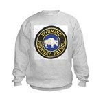Wyoming Highway Patrol Kids Sweatshirt